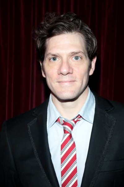 Adam Rapp at Inside Opening Night of THROUGH THE YELLOW HOUR