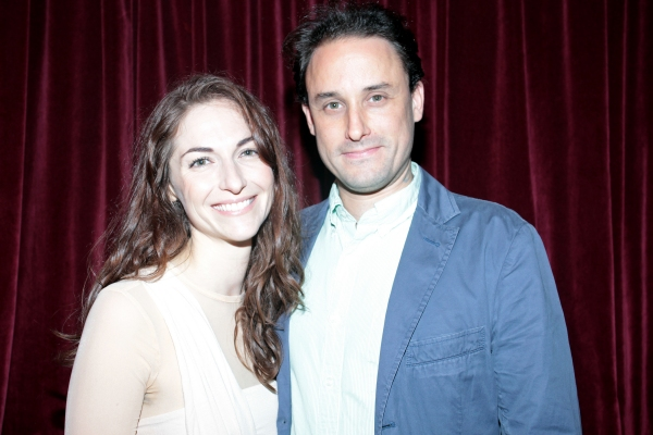 Danielle Slavick, Greg Keller at Inside Opening Night of THROUGH THE YELLOW HOUR