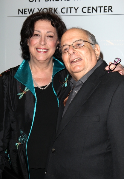 Lynne Meadow & Alfred Uhry  at AN ENEMY OF THE PEOPLE - Opening Red Carpet!