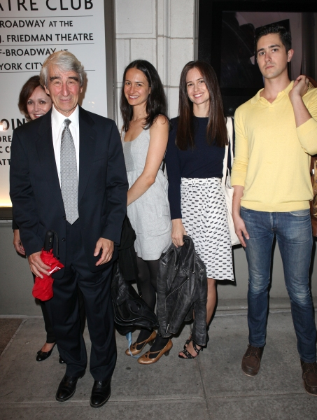 Sam Waterston and Family at AN ENEMY OF THE PEOPLE - Opening Red Carpet!