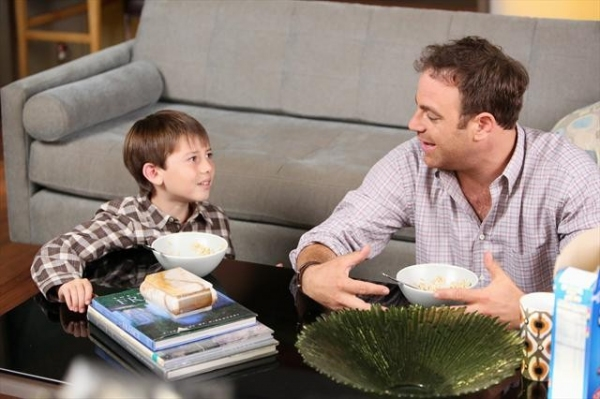 GRIFFIN GLUCK, PAUL ADELSTEIN at Sneak Peak at PRIVATE PRACTICE on 10/9