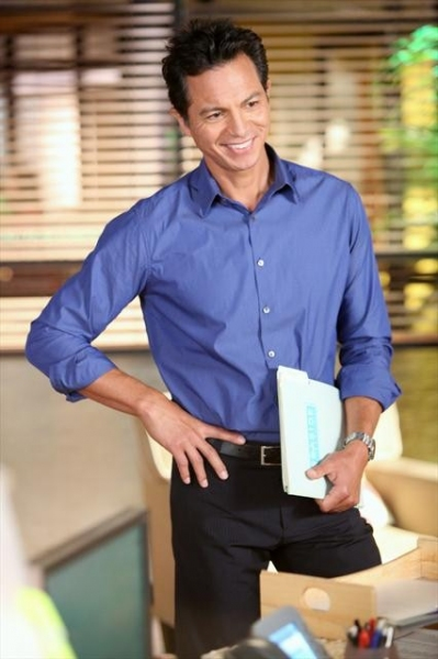 BENJAMIN BRATT at Sneak Peak at PRIVATE PRACTICE on 10/9