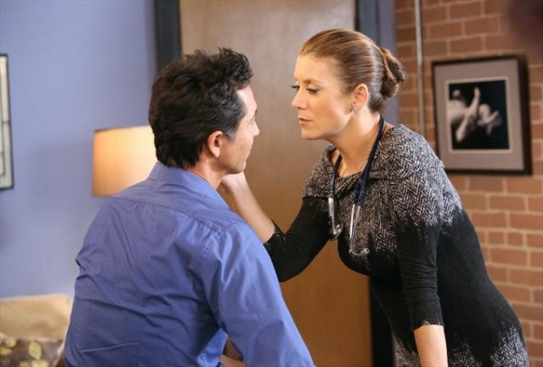 BENJAMIN BRATT, KATE WALSH at Sneak Peak at PRIVATE PRACTICE on 10/9