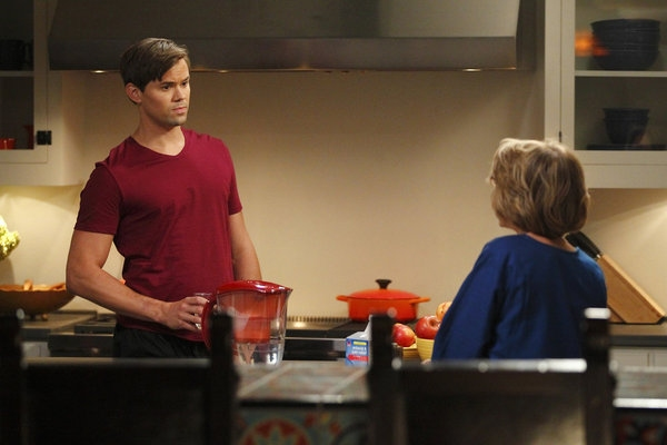 Andrew Rannells, Jackie Hoffman at First Look - Jackie Hoffman on THE NEW NORMAL