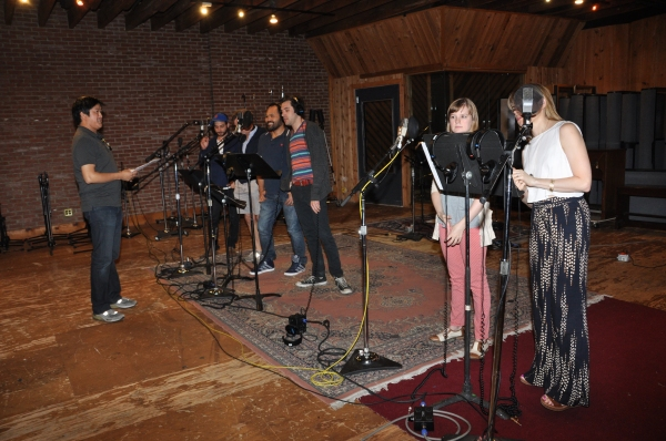 Photo Coverage Exclusive: PETER AND THE STARCATCHER Cast Records 'Carols For A Cure'