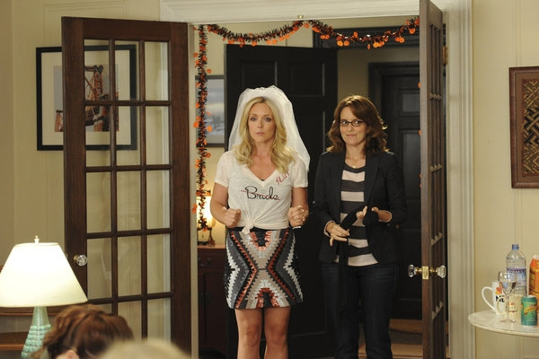 Jane Krakowski, Tina Fey at First Look - Season Premiere of NBC's 30 ROCK