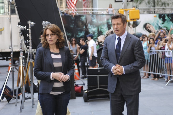 Tina Fey, Alec Baldwin at First Look - Season Premiere of NBC's 30 ROCK