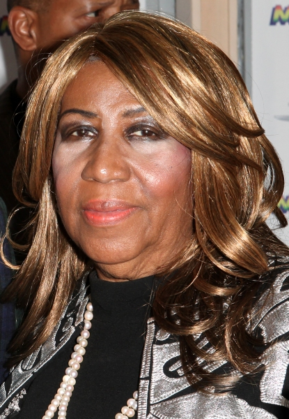 Aretha Franklin  at Inside the MOTOWN: THE MUSICAL Launch- Arrivals!