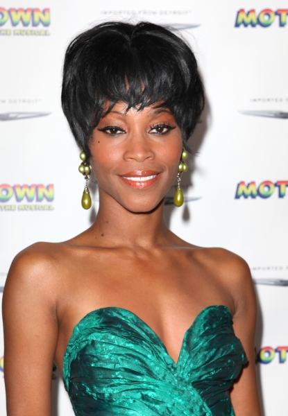Valisia LeKae  at Inside the MOTOWN: THE MUSICAL Launch- Arrivals!