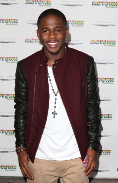 Marcus Canty  at Inside the MOTOWN: THE MUSICAL Launch- Arrivals!