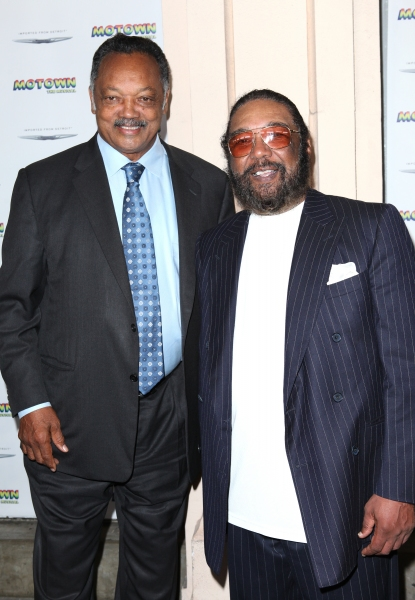 Jesse Jackson and Brian Holland