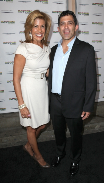Robert Pennino and Hoda Kotb  at Inside the MOTOWN: THE MUSICAL Launch- Arrivals!