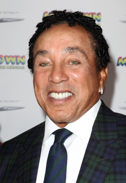Smokey Robinson  at Inside the MOTOWN: THE MUSICAL Launch- Arrivals!