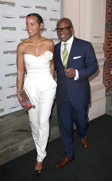 Erica Reid & L.A. Reid at Inside the MOTOWN: THE MUSICAL Launch- Arrivals!