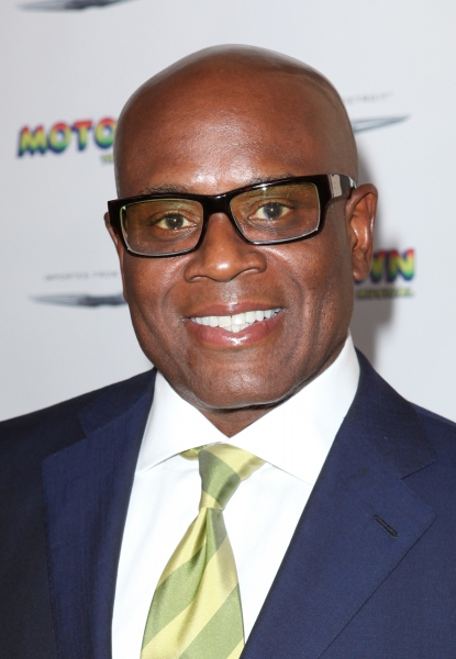 L.A. Reid  at Inside the MOTOWN: THE MUSICAL Launch- Arrivals!