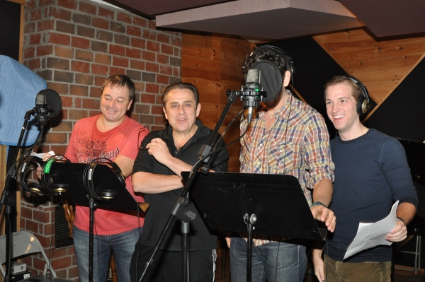 Exclusive Photos: CHAPLIN Cast Records 'Carols For A Cure'