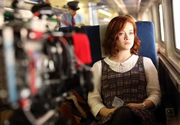 Jane Levy at Behind-the-Scenes Look at  SUBURGATORY Season Premiere