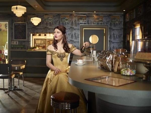 Emilie de Ravin as Belle. (ABC/AUTUMN DE WILDE) at Meet the Cast of ONCE UPON A TIME - Season Two Premieres Sunday!