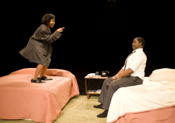 Photo Flash: First Look at J. Bernard Calloway and Kikiya Mathis in Milwaukee Rep's THE MOUNTAINTOP