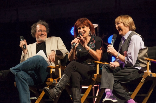 Comedy Panel- David Misch (Moderator), Judy Carter and Geri Jewell Photo