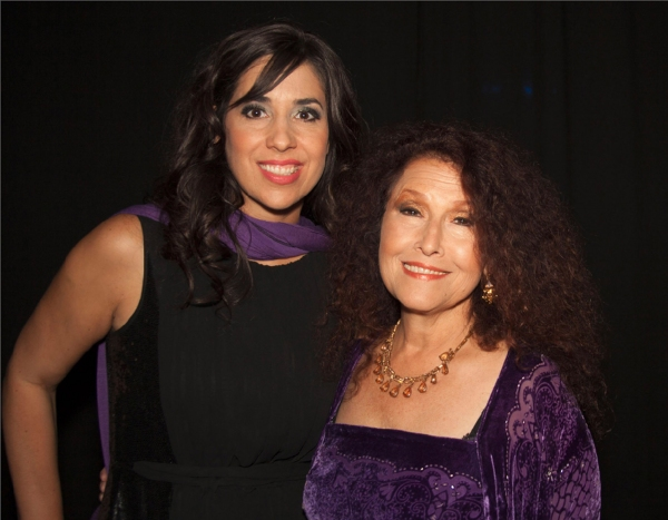 Backstage with Michelle J. Patterson and Melissa Manchester at Stars of Stage, Screen, TV & More Gather in Support of CA Women's Conference
