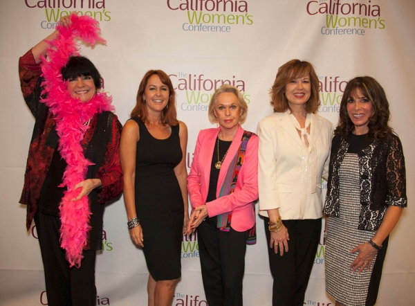 JoAnne Worley, Erin Murphy, Tippi Hedren, Lee Purcell and Kate Linder at Stars of Stage, Screen, TV & More Gather in Support of CA Women's Conference