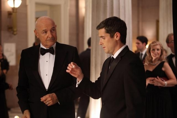 TERRY O'QUINN, DAVE ANNABLE at Sneak Preview of 666 PARK AVENUE on 10/21