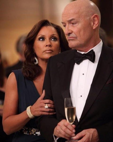 VANESSA WILLIAMS, TERRY O'QUINN at Sneak Preview of 666 PARK AVENUE on 10/21