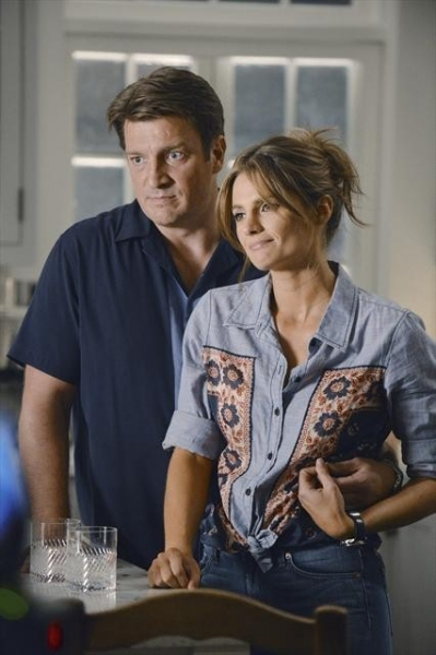 NATHAN FILLION, STANA KATIC at Sneak Preview of CASTLE's October 15 Episode