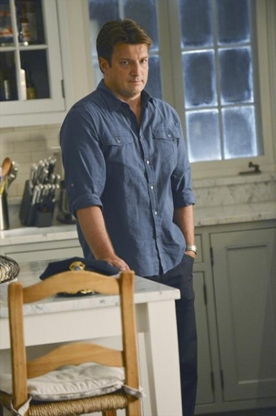 NATHAN FILLION at Sneak Preview of CASTLE's October 15 Episode