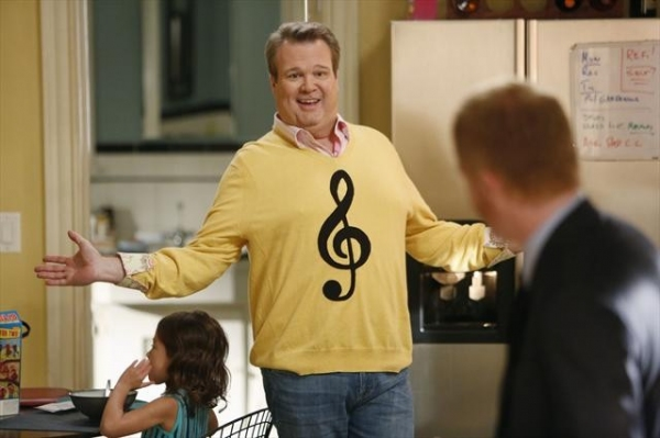 AUBREY ANDERSON-EMMONS, ERIC STONESTREET, JESSE TYLER FERGUSON at Sneak Preview at MODERN FAMILY's 10/17 Episode