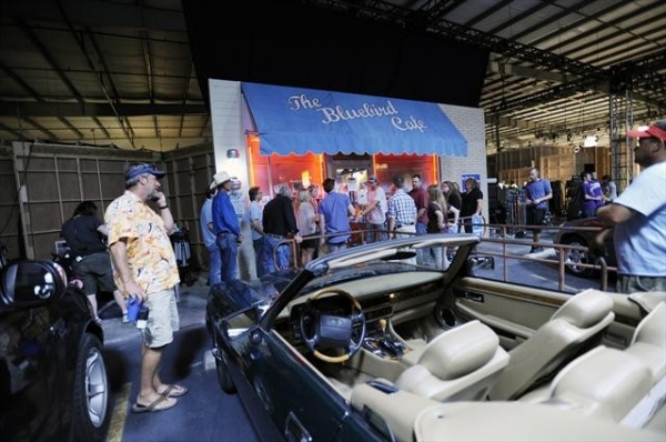 Photo Coverage: Behind the Scenes of NASHVILLE on 10/17