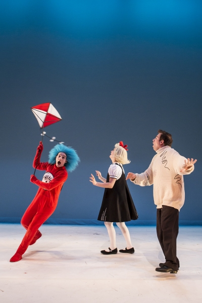 Photo Flash: First Look at Dr. Seuss' THE CAT IN THE HAT U.S Premiere at Children's Theatre Company