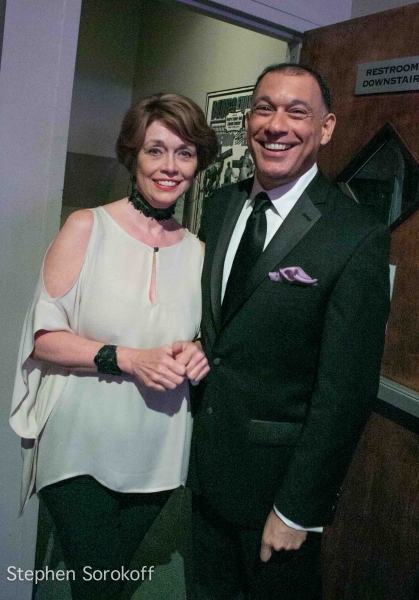 Kathleen Landis & Frank Dain at Frank Dain's THE MAGIC OF MATHIS at the Metropolitan Room