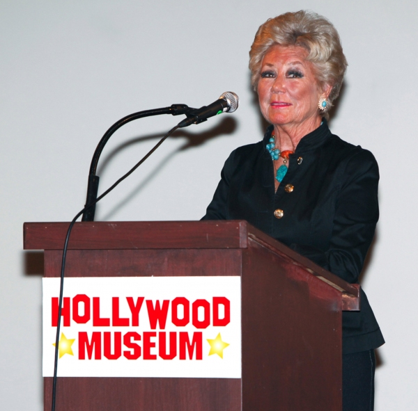 Mitzi Gaynor at Over 300 Stars Gather to Celebrate Life Industry Advocate Dale Olson