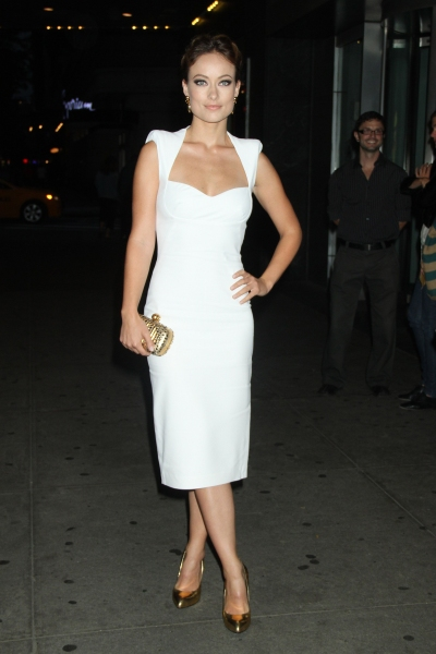 Olivia Wilde 'Butter' film premiere (Photo by MediaPunch Inc / Rex USA) at Fashion Photo of the Day 9/29/12 - Olivia Wilde