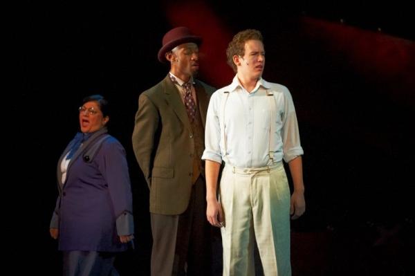 June Baboian, Damian Norfleet and Michael S. Dunavant Photo