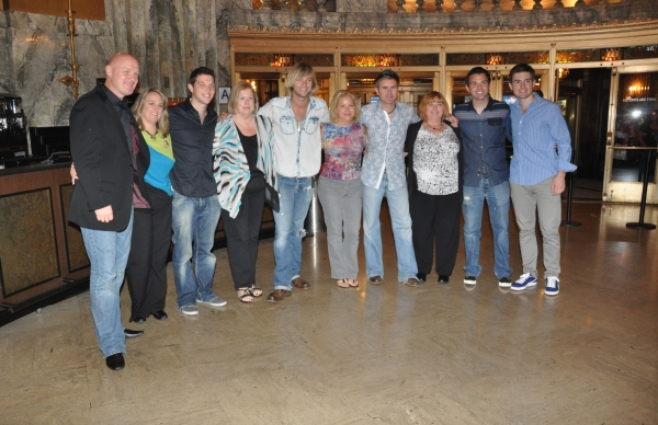 George Donaldson, Michelle Engel, Colm Keegan, Sue Kron, Keith Harkin, Joan Gute, Neil Byrne, Lyn Terjesen, Ryan Kelly and Emmet Kelly