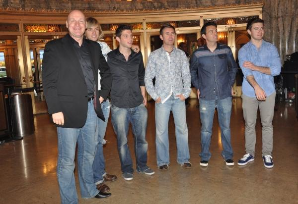 George Donaldson, Keith Karkin, Colm Keegan, Neil Byrne, Ryan Kelly and Emmet Cahill