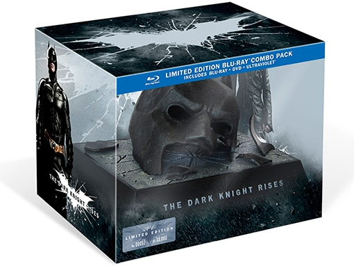 Photo Flash: Artwork and Details Revealed for THE DARK KNIGHT RISES on Blu-ray & DVD!