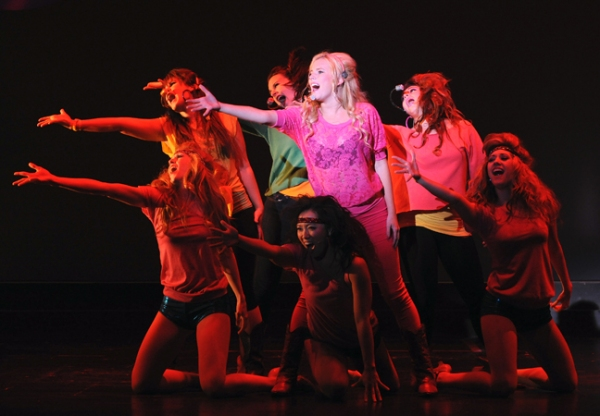 Emma Degerstedt & Company at First Look at San Diego Musical Theatre's FOOTLOOSE
