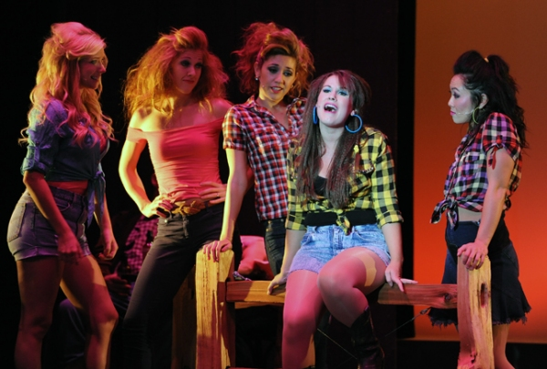Emma Degerstedt, Kaitlyn Etter & Company at First Look at San Diego Musical Theatre's FOOTLOOSE