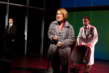James Barry, Kristine Fraelich and Brian Hissong at First Look at Robert Hager, Kristine Fraelich and More in Arden Theatre's NEXT TO NORMAL