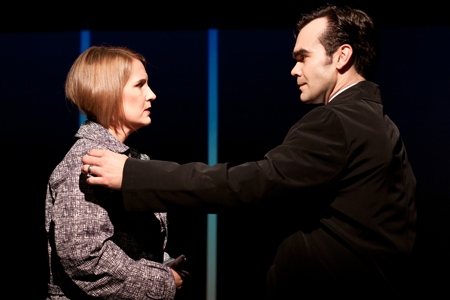 Kristine Fraelich and James Barry at First Look at Robert Hager, Kristine Fraelich and More in Arden Theatre's NEXT TO NORMAL