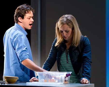 Rachel Camp  and James Barry at First Look at Robert Hager, Kristine Fraelich and More in Arden Theatre's NEXT TO NORMAL