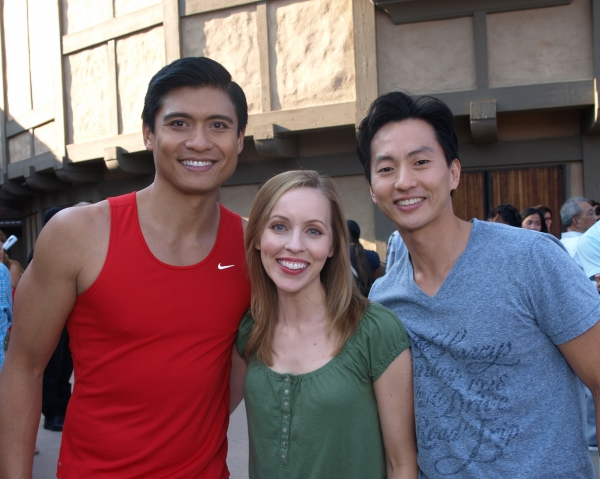 Paolo Montalban, Jill Townsend, and Michael K. Lee