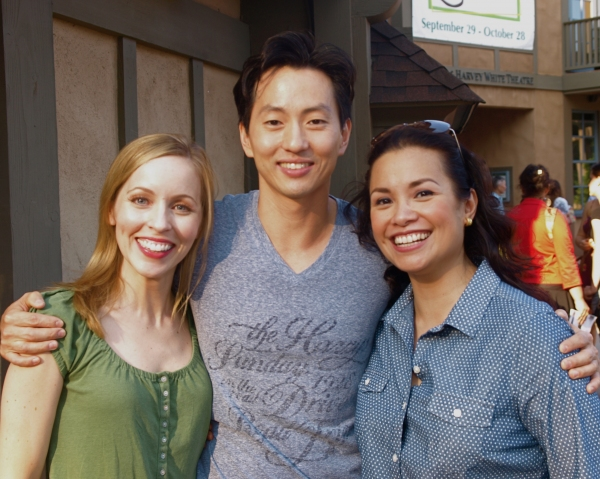Jill Townsend, Michael K. Lee, and Lea Salonga