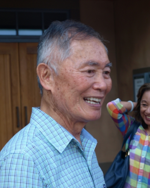 George Takei at Photo Exclusive: George Takei, Lea Salonga, Telly Leung and the Cast of ALLEGIANCE Meet Their Fans!
