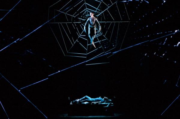 Photo Flash: First Look at Robert Cuccioli & Katrina Lenk in SPIDER-MAN!