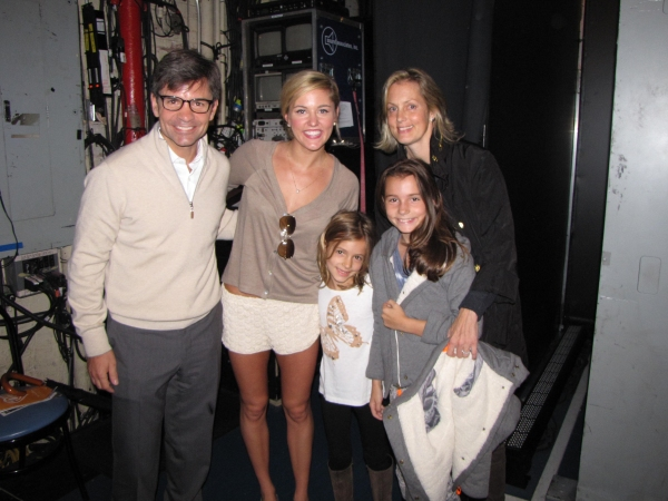 George Stephanopoulos, Taylor Louderman (Campbell), Harper Stephanopoulos, Elliott Stephanopoulos, Ali Wentworth